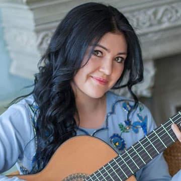 Irina Kulikova at the New England Guitar Ensembles Festival